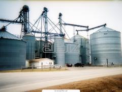 Зернохранилища, зерносклады, овощесклад
