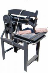 Equipment for cutting of a brick. Workbench