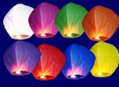 Китайские небесные фонарики, где купить фонарик
