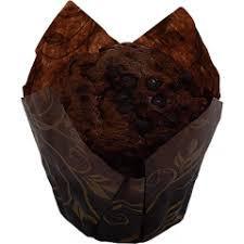 Мафин шоколадный тюльпан90