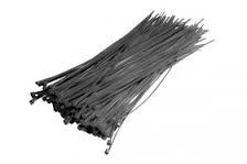 Opaska kablowa 5 * 400mm czarna 100szt. Instail 1/5