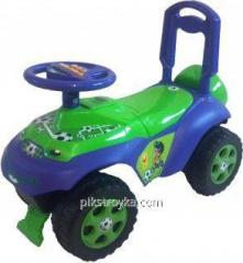 Dětský automobil-kolečková židle