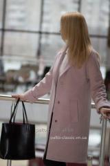 Женское зимнее  пальто Samange M480 прямого силуэта