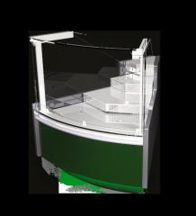 Холодильная витрина Verona Cube УН (угловой элемент)