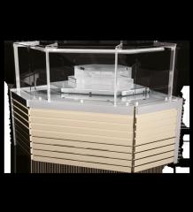 Холодильная витрина Savona Cube УН (угловой элемент