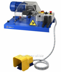 Machine for removing rubber layers SPF2 E
