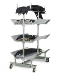 Carts for transportation of sleeves