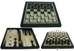 Игры настольные, шахматы, набор для игры в покер,