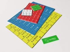 Plastic stickers for the network equipmen