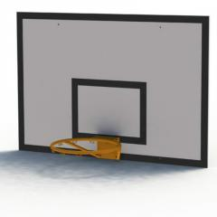 Children's basketball backboard