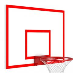 Basketball backboard metal