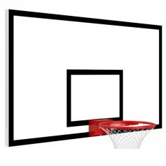 Game basketball backboard plywood