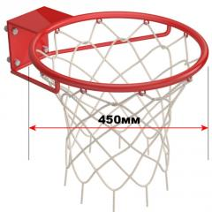 The basket is basketball simple