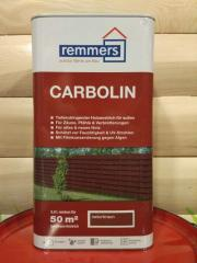 Лазурь для забора Remmers CARBOLIN