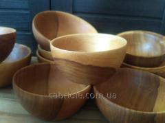 Drinking bowl of wooden 110 mm