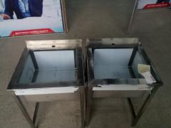 School desk sink 600х600х850 bowl 480х450х300