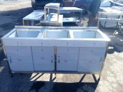 Sink zkh section, compartment doors 1800х600х850 bowl 520х450х300