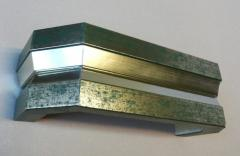[Copy] Карниз для штор итальянский, А-209 двойной