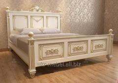 """Кровать """"Ставрос """" с натурального дерева"""