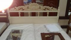 """Кровать """"Олимп -Люкс"""" с натурального дерева"""