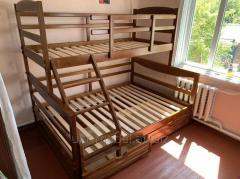 двухярусная кровать  Барс плюс