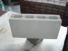 Slag stone peregorodochny 395*195*90