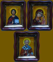The attributes are church, Icons