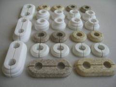 Decorative overlays for pipes (artificial stone))