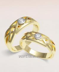 Обручальное кольцо 121-895
