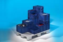 Boxes plastic KLT