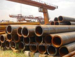 Pipes steel seamless hot-deformed