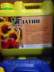 Микроудобрение Хелатин-Мультимикс