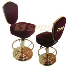 Chairs for slot machines with the logo of...
