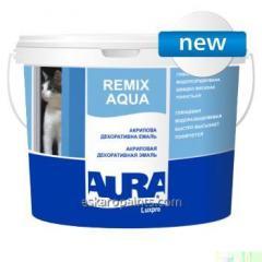 Акриловая декоративная эмаль Aura Luxpro Remix Aqua 2.5л