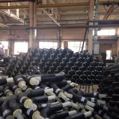 Теплоизолированные стальные трубы 920/1100 в оболочке (ПЕ; СПИРО)