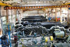 Теплоизолированные стальные трубы 1020/1200 в оболочке (ПЕ; СПИРО)