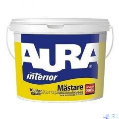 Deep and opaque paint for ceilings and walls of Aura Mastare 10 of l