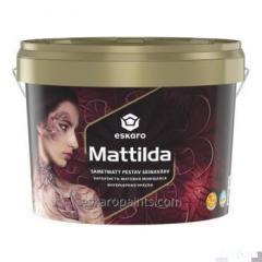 Bársonyos matt mosható beltéri festék Eskaro Mattilda 9.5l