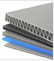 Single-layer cellular polymeric sheet Triplic