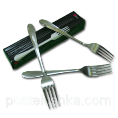 Fork table stainless steel of 12 pieces of Chile