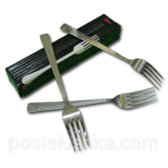 Fork table stainless steel of 12 pieces of Euro