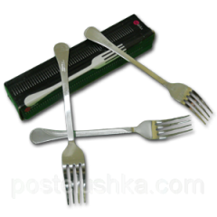 Fork table stainless steel of 12 pieces of Lehre