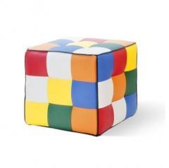 """Padded stool """"Rainbow"""
