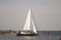 Парусно - моторная яхта пр. Unity