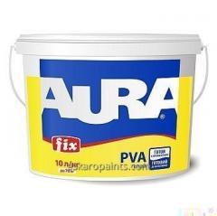 Готовый к применению Клей ПВА Aura Fix PVA 10л