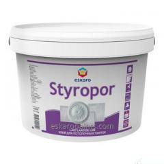 Клей для изделий из полистирола Готовый к применению Eskaro Styropor 2,1л