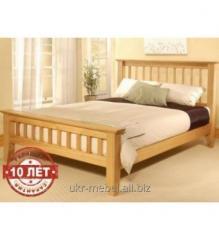 """Кровать  """"Заря"""" с дерева"""