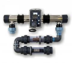 Ионизатор активного кислорда и меди E-Clear очистка бассейна до 80 м³ без хлора