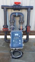 Ионизатор активного кислорда и меди E-Clear очистка бассейна до 150 м³ без хлора