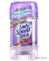 Deodorant stik Lady Speed Stick 65 of women's gel Invisible protection 1/6